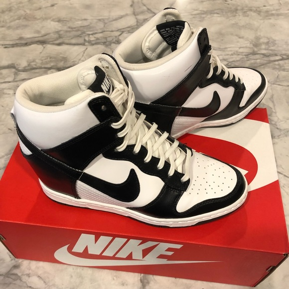 new product cb9f9 f1bca Nike Dunk Sky Hi Wedge Sneakers. M 5bfd4558e944ba6691309b8a